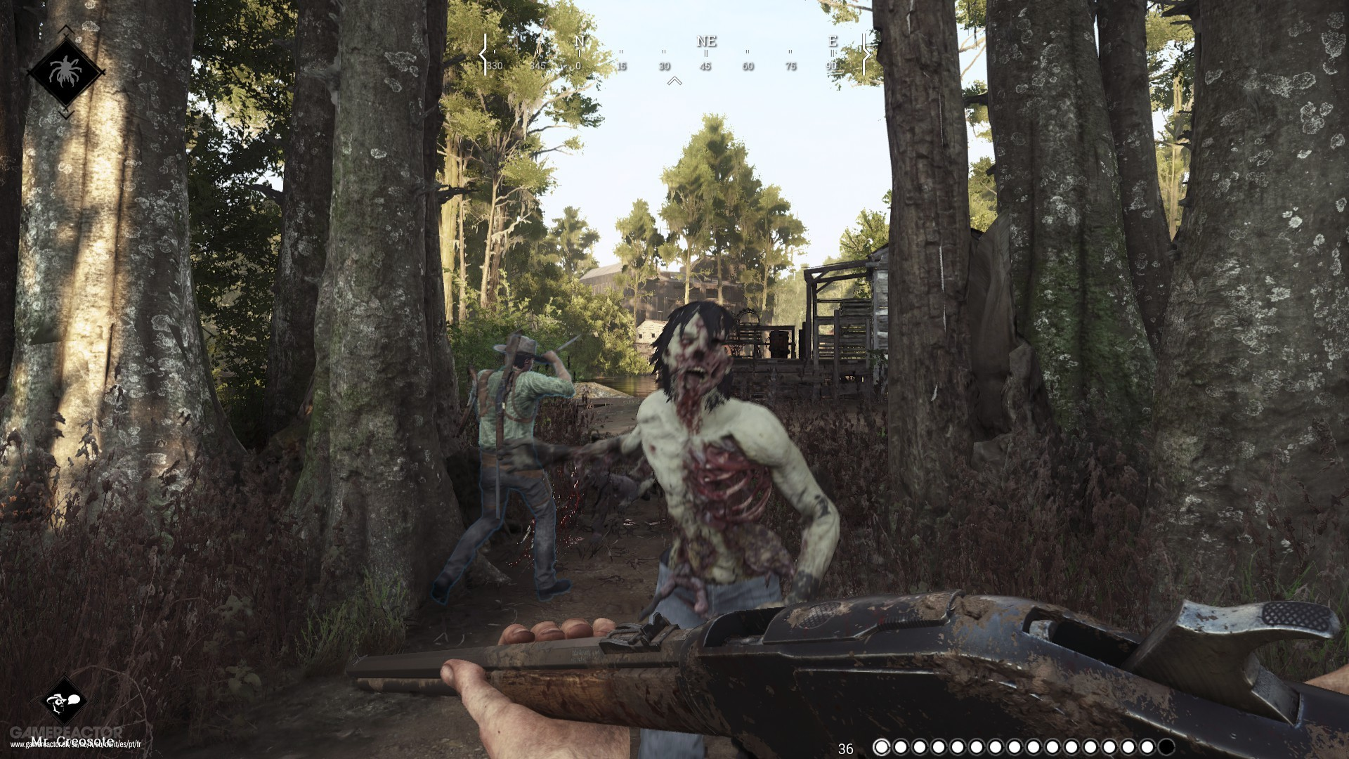 how to join friends in hunt showdown