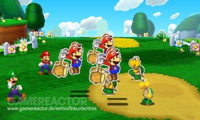 Mario Luigi Paper Jam Preview Gamereactor Mario