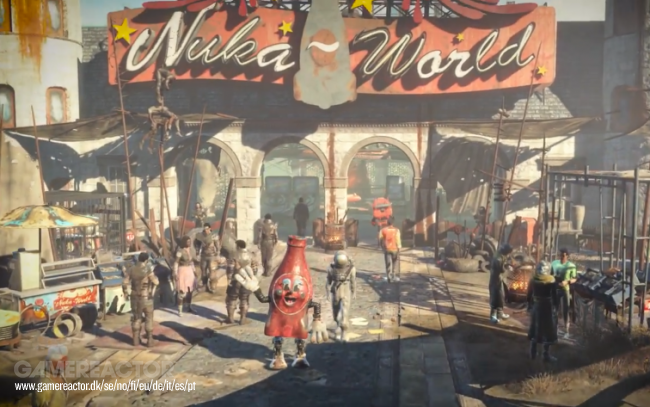 Check out Nuka-World mascots Bottle & Cappy in new trailer