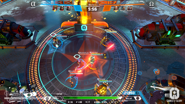 Games of Glory: a MOBA that plays like a shooter