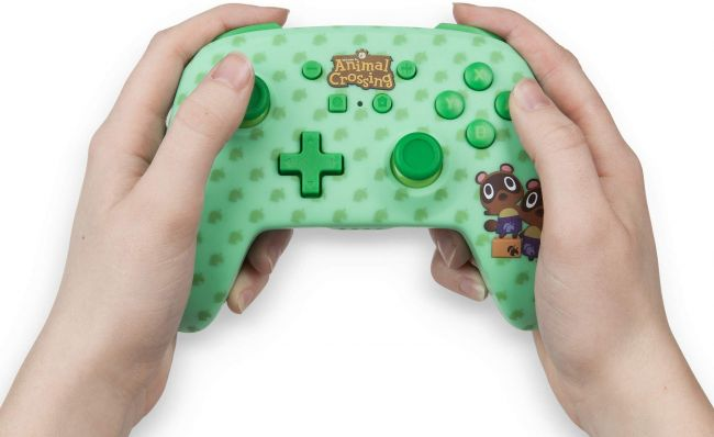 Power A making Animal Crossing: New Horizon controllers