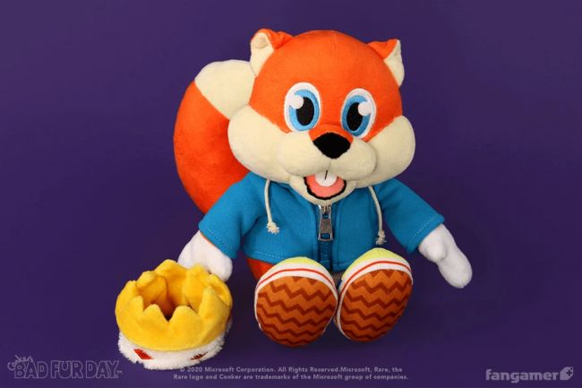 Would your life be better with a talking Conker plushie?