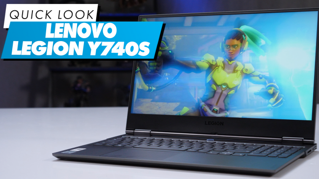 We explore the features in the Lenovo Legion Y740S