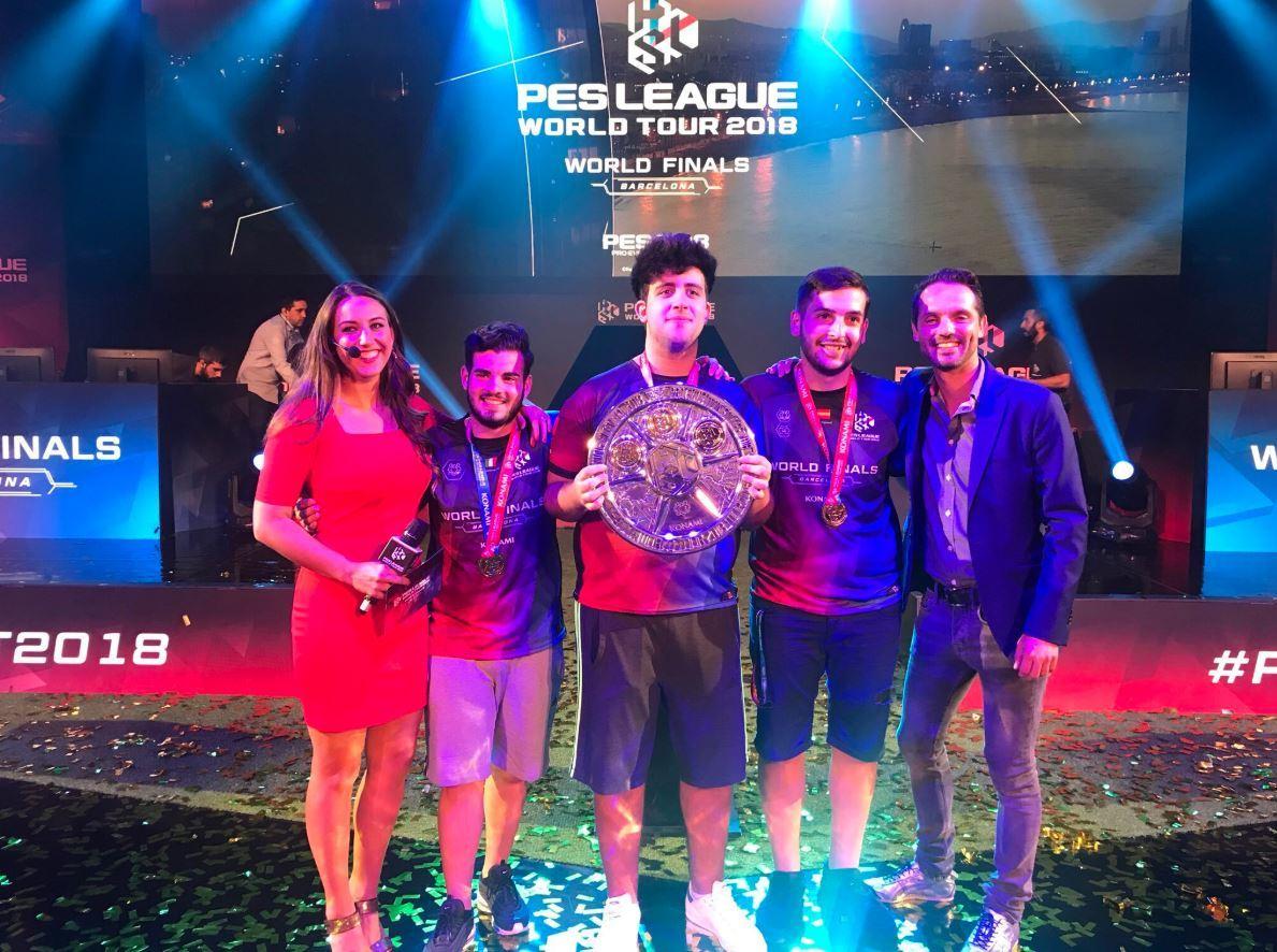 Ettorito dominates the PES League Finals - Pro Evolution