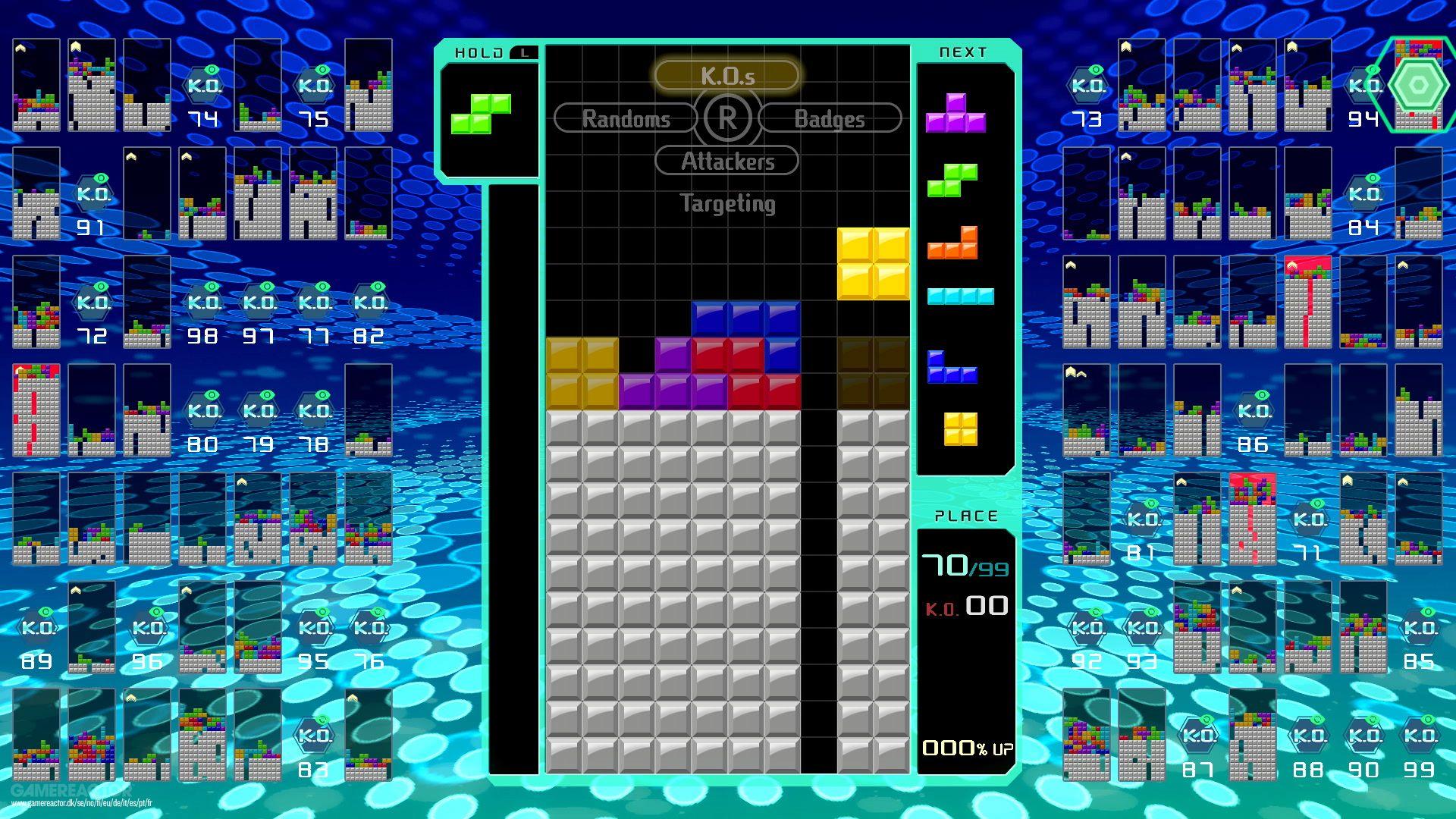 Tetris 99: How to Become a Tetris Master