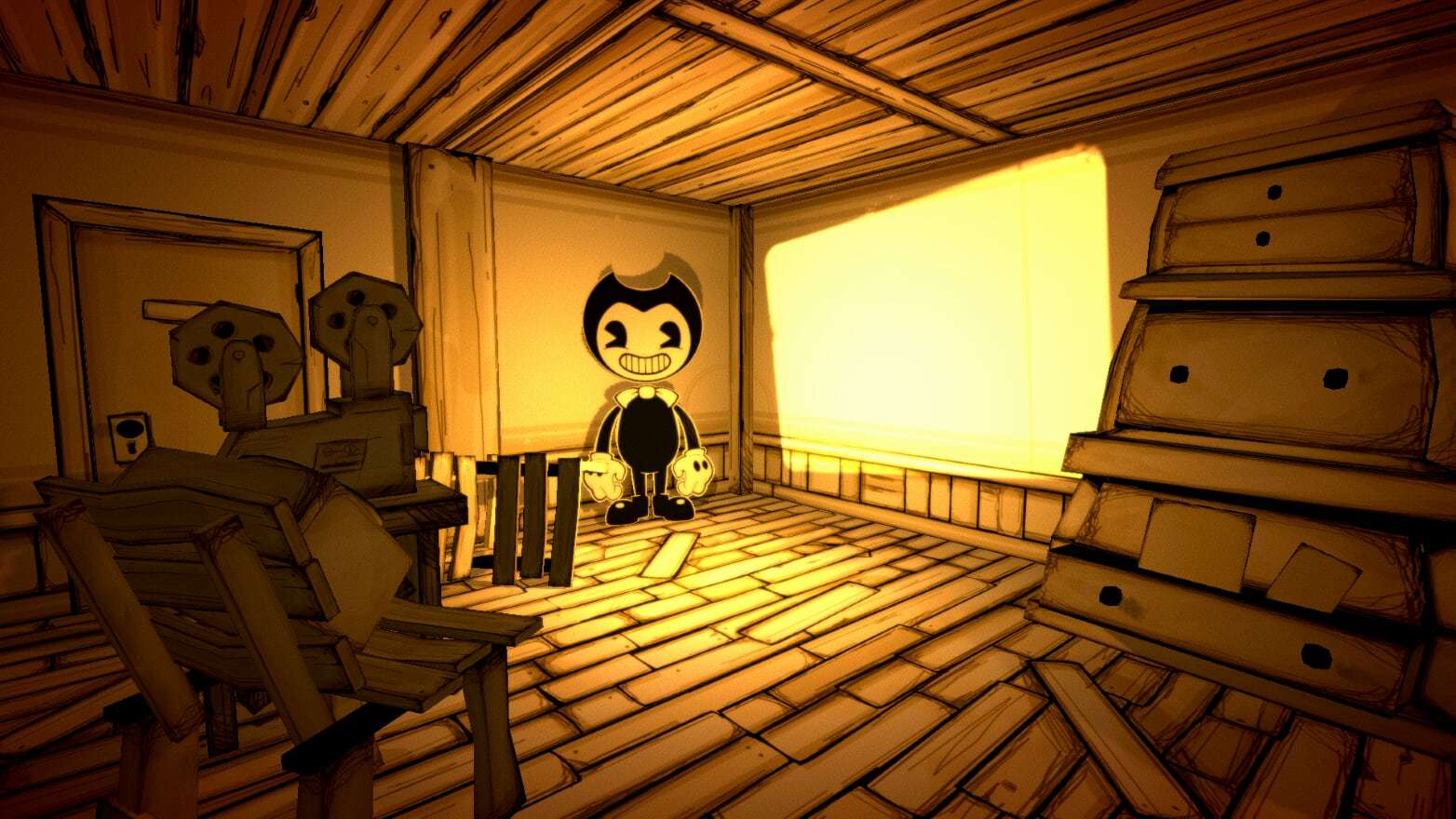creating a monster bendy and the ink machine