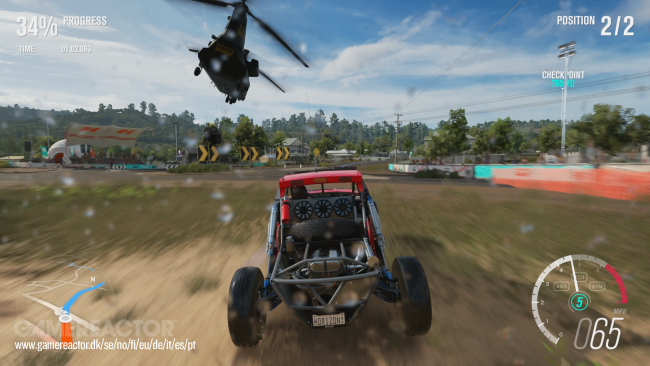Racing Outback: Playground on Forza Horizon 3