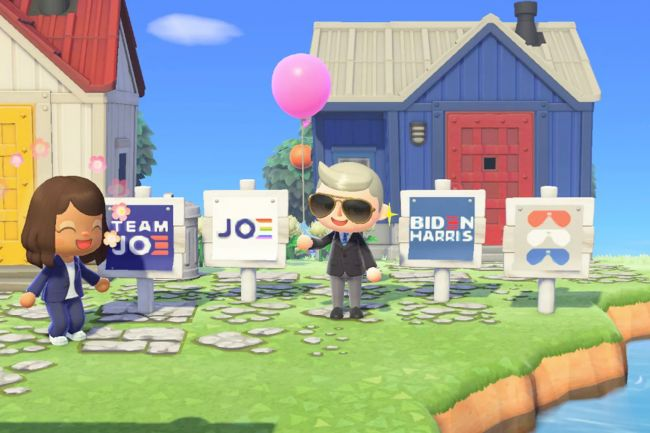 Visit Joe Biden's island in Animal Crossing: New Horizons