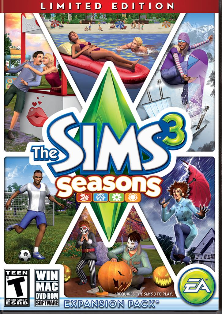 The sims 3: seasons limited edition pc | zavvi us.