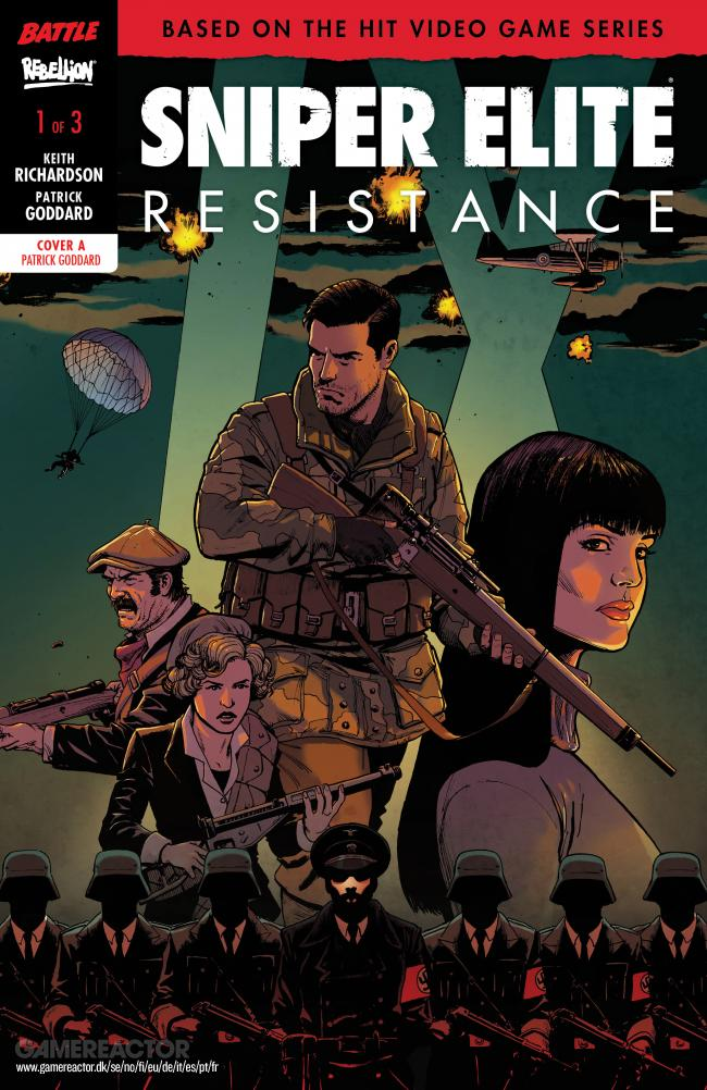 Sniper Elite becomes a comic series