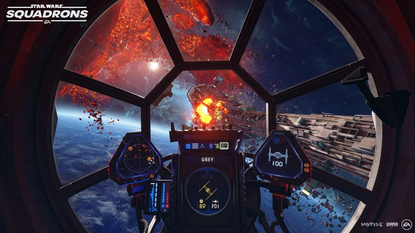 Star Wars Squadrons Hands On Impressions Preview Gamereactor