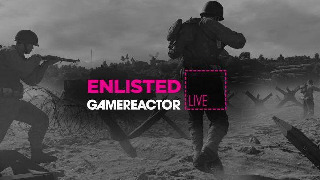 We're playing Enlisted on today's GR Live