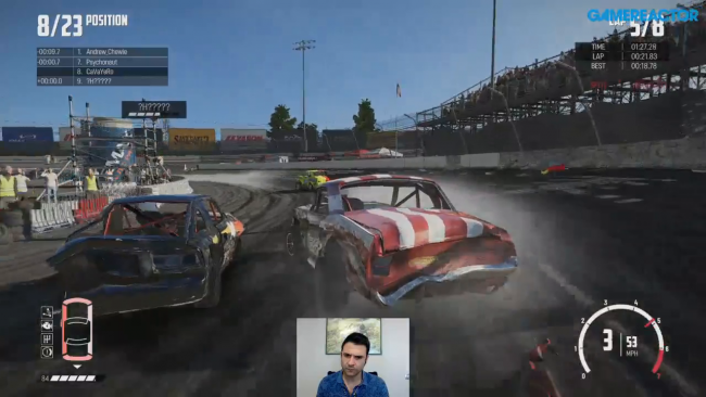 Watch two hours of crazy crashes in Wreckfest