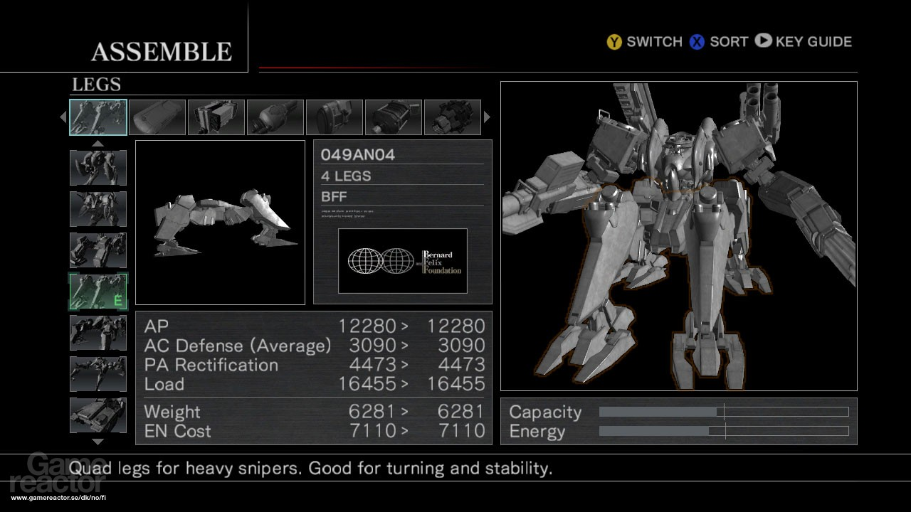 Pictures Of Armored Core For Answer 5 8