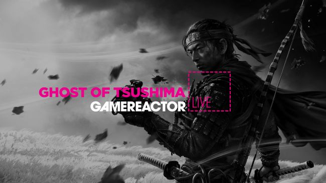 We're playing Ghost of Tsushima on today's GR Live