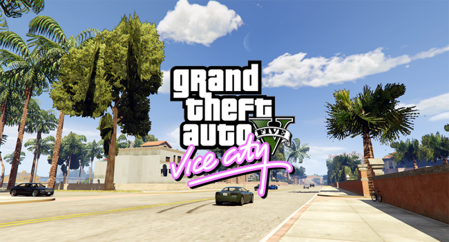 A mod lets you fly from GTA's Los Santos to Vice City