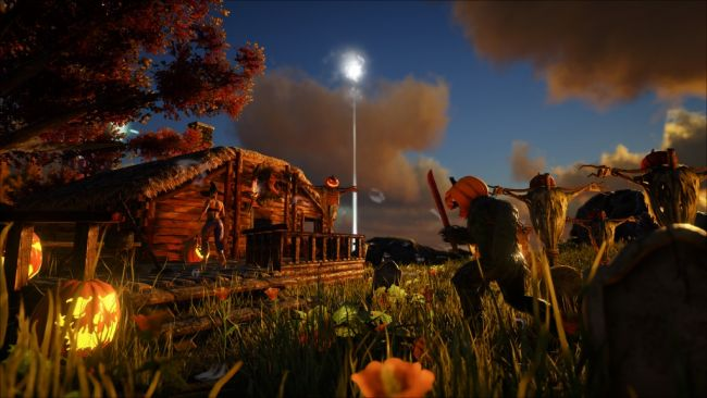 It's Halloween in ARK: Survival Evolved