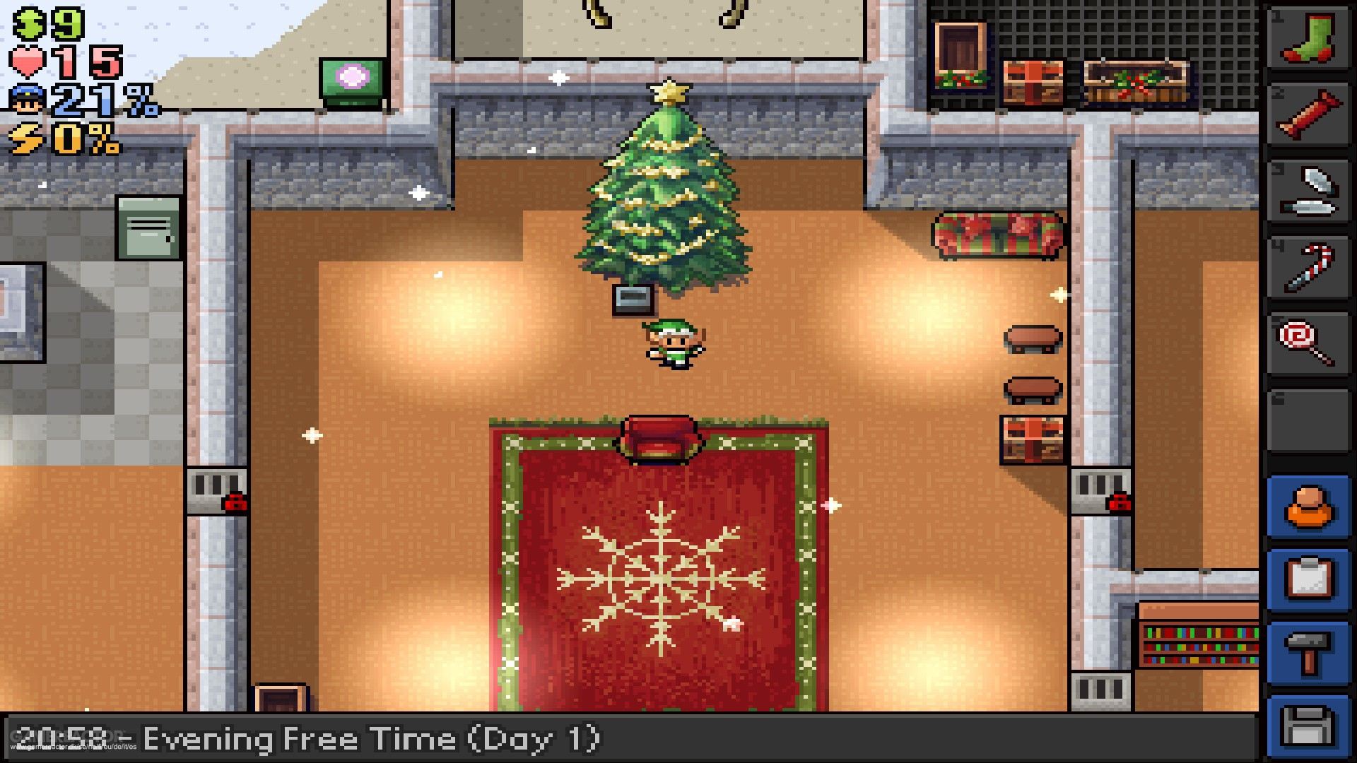 The Escapists getting Santa's Sweatshop DLC