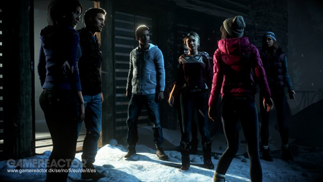 Until Dawn will last you nine hours on one playthrough