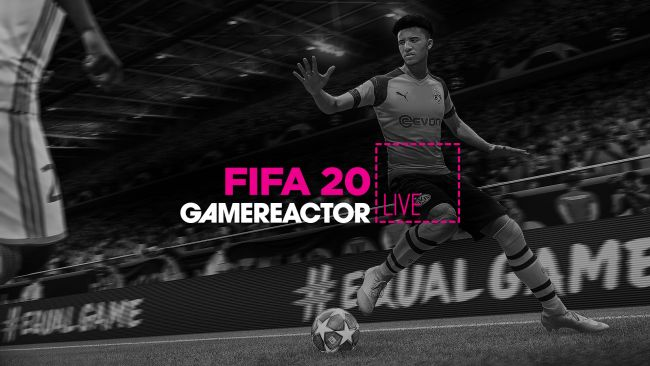 We're going to check out FIFA 20 on today's GR Live
