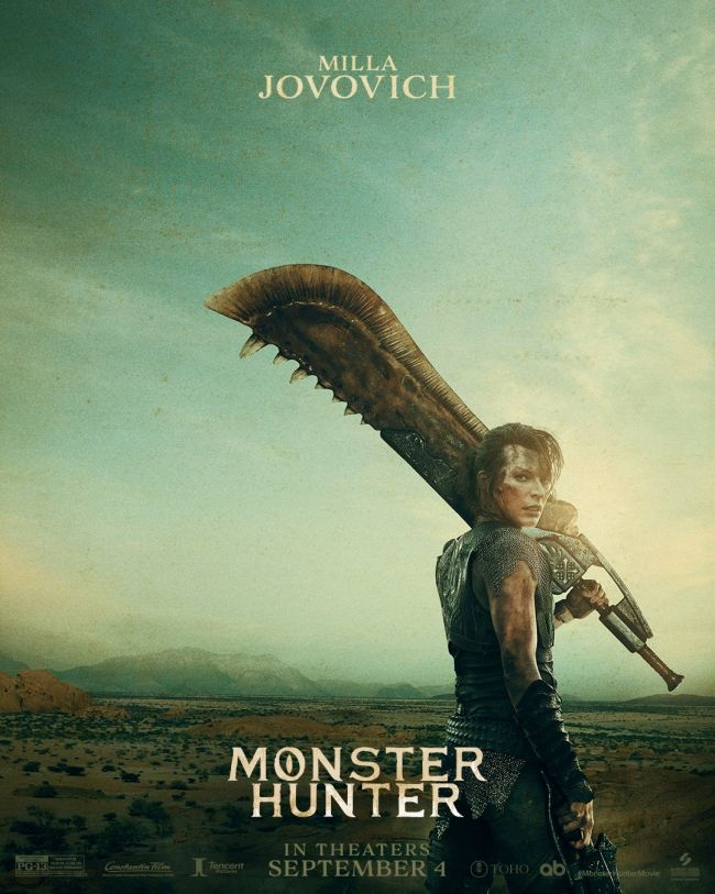 New Monster Hunter movie posters resemble the games