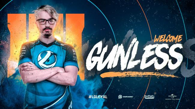 Gunless joins Luminosity's Call of Duty squad