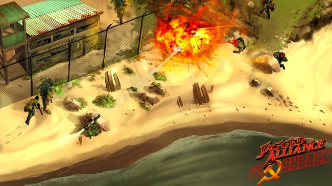 Jagged Alliance: Flashback got funded
