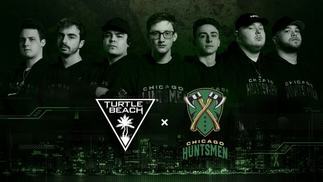Turtle Beach establishes partnership with Chicago Huntsmen