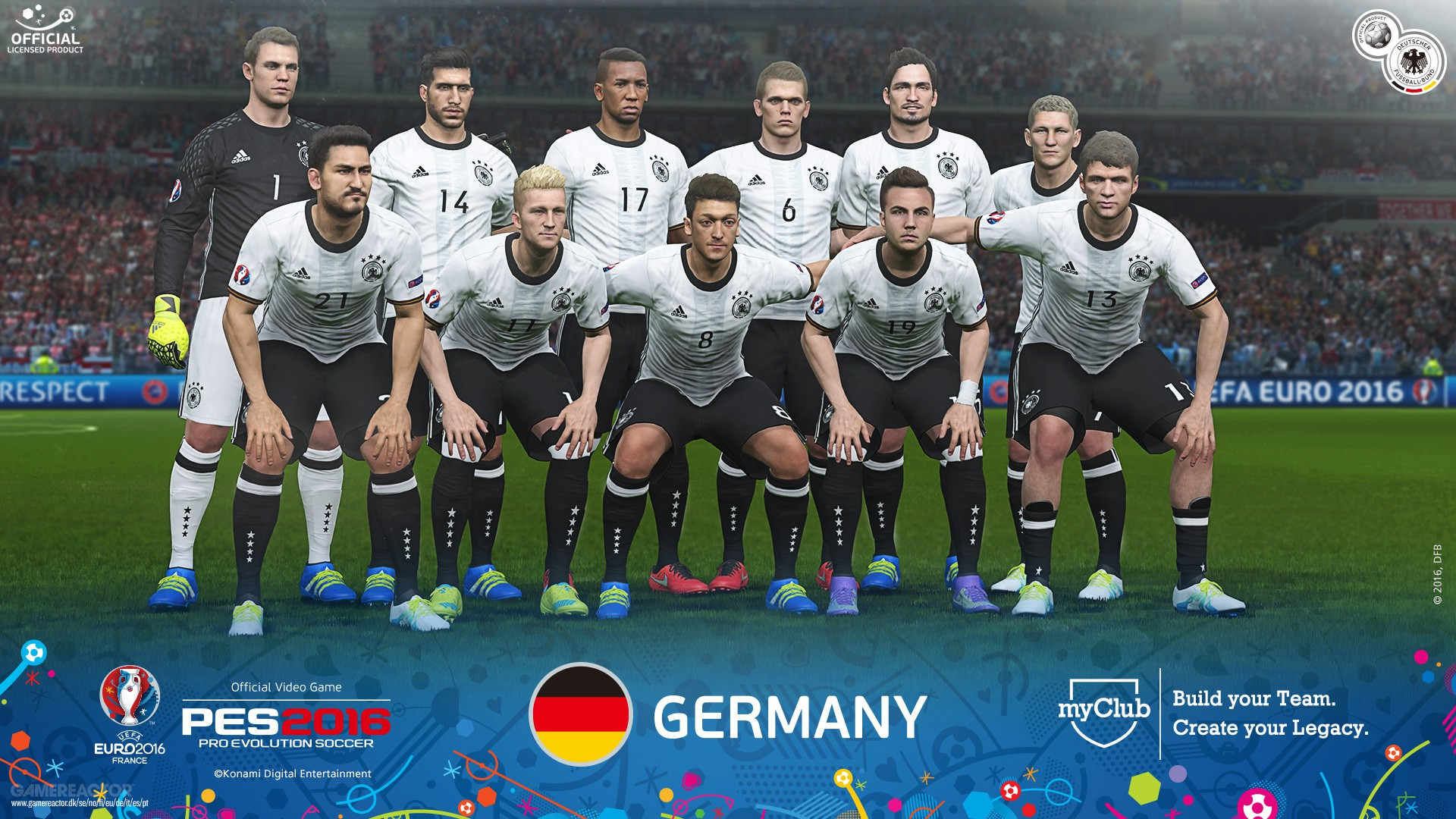 pictures of the uefa euro 2016 version of pes 2016 is out now 4 20. Black Bedroom Furniture Sets. Home Design Ideas
