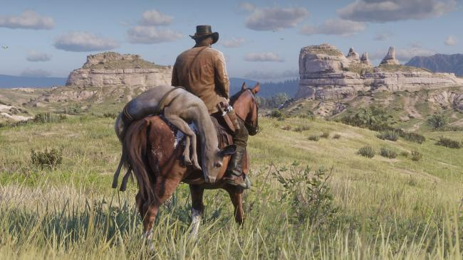 Charts: Red Dead rides into the sunset at number one