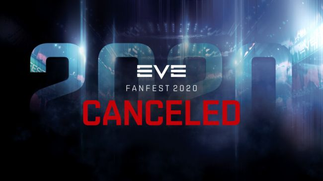 Eve Fanfest 2020 is the latest event affected by coronavirus