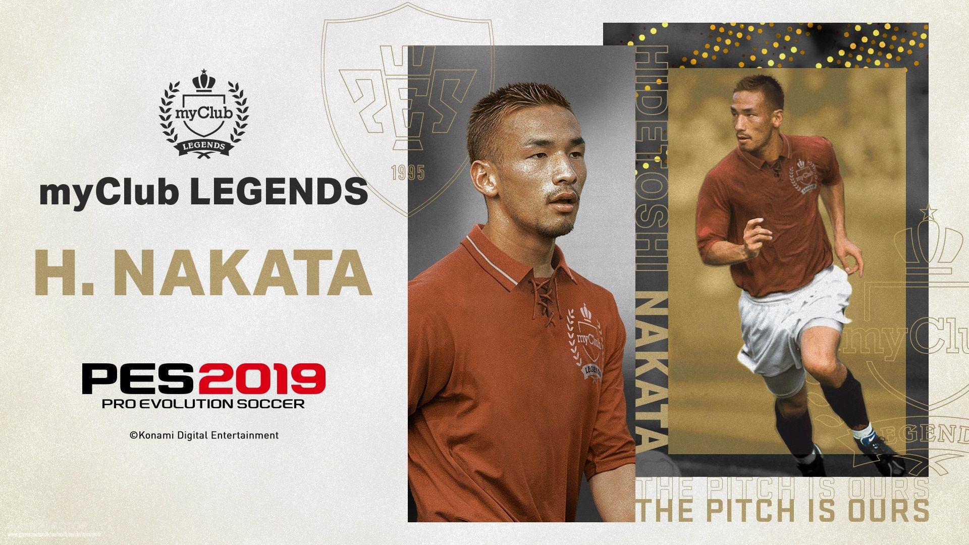 Francesco Totti among new legends added to PES 2019 - Pro Evolution