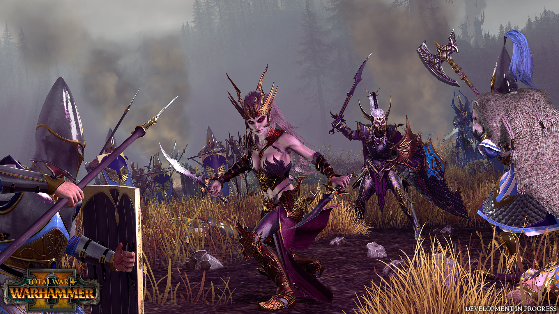 Pictures Of Dark Elves Shown Off In New Total War Warhammer