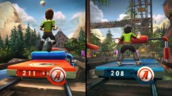 Kinect Adventures screens