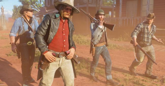 Red Dead Redemption 2 has 192 pieces of scored music