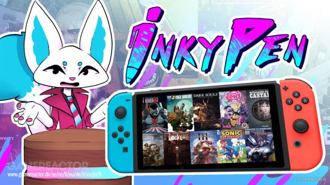 InkyPen releases on Nintendo Switch as