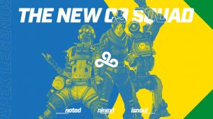 Cloud9's Apex Legends team is its first Brazilian squad
