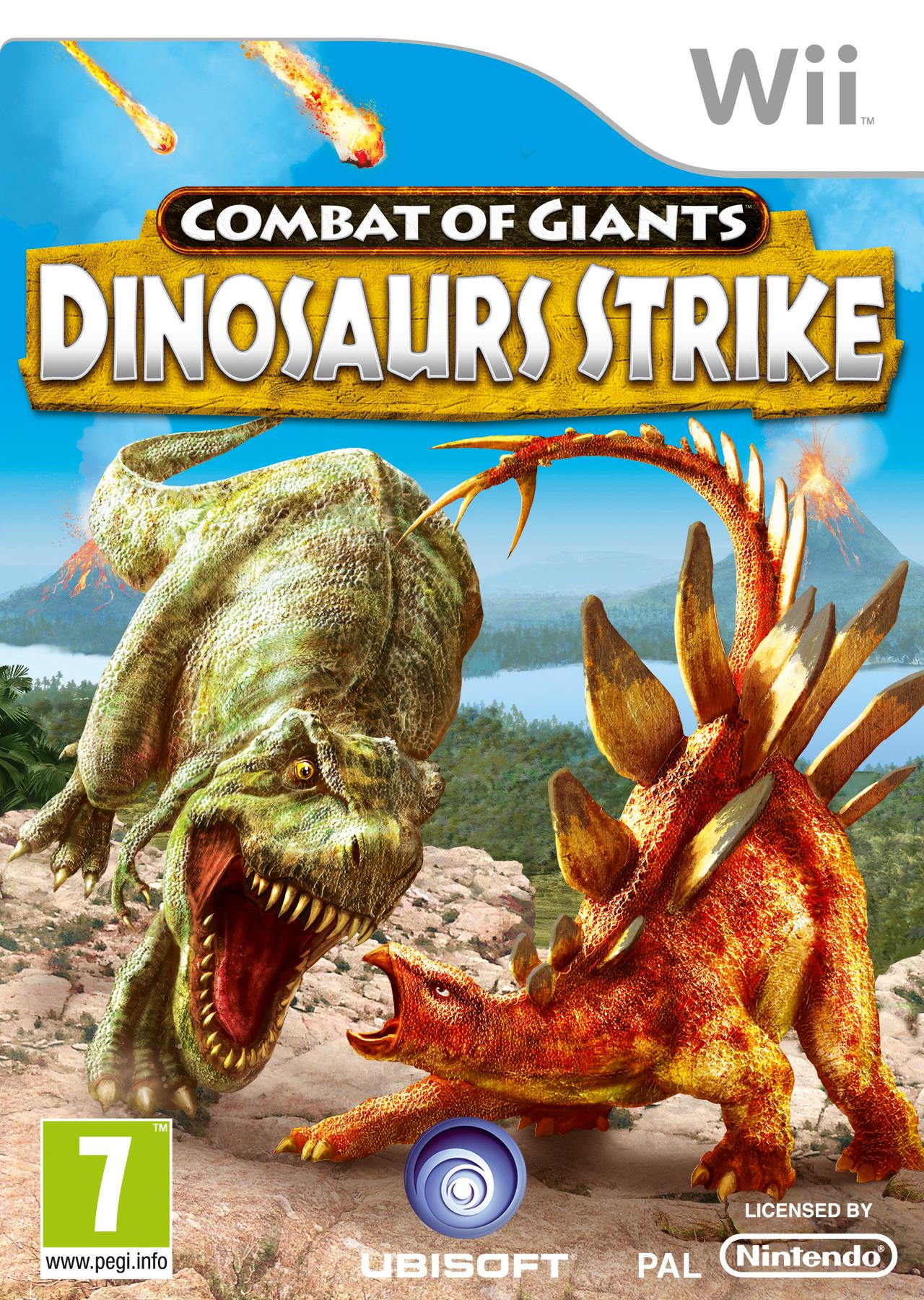 Battle of Giants Dinosaurs Strike Wii