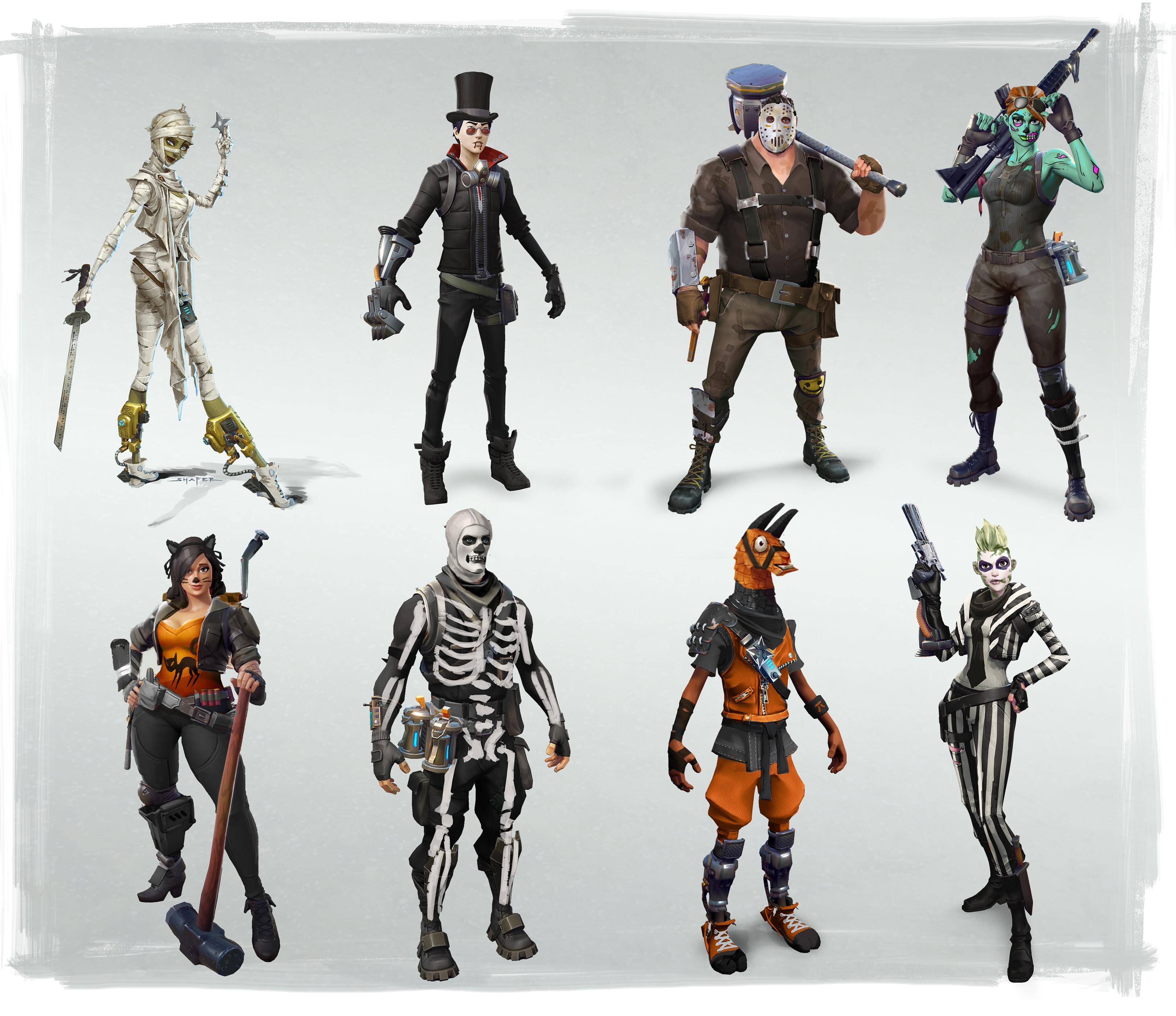 Halloween Fortnite.Fortnitemares Halloween Event Arrives To Fortnite