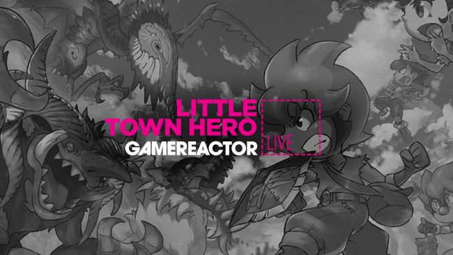 Game Freak's Little Town Hero is on today's stream