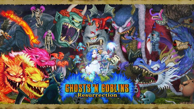 Ghosts 'n Goblins Resurrection is coming to more platforms