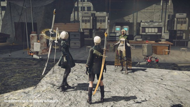 Nier: Automata lets you resurrect your own body as an NPC
