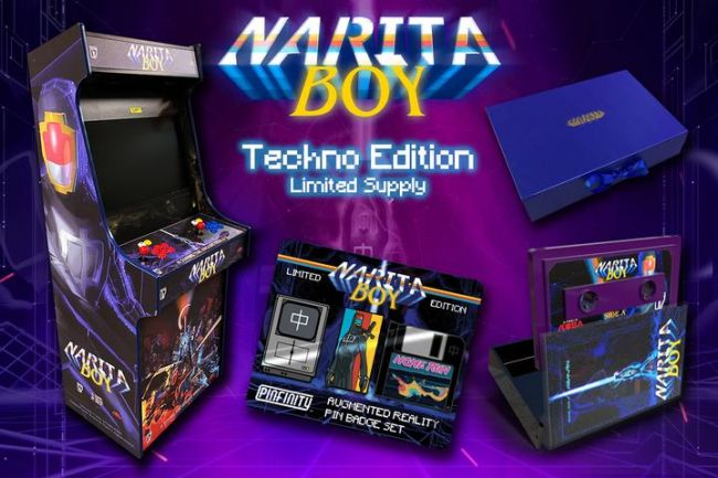 A special one-off Techno Edition has been released for Narita Boy