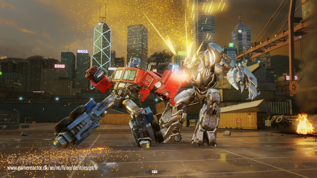 Transformers: Forged to Fight announced