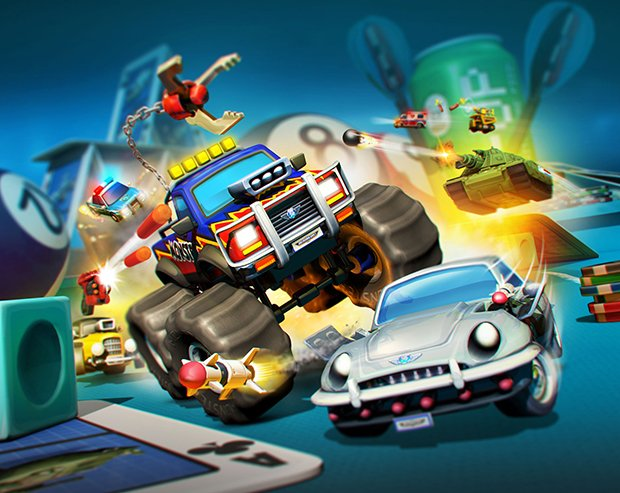 First trailer and box art for Micro Machines: World Series