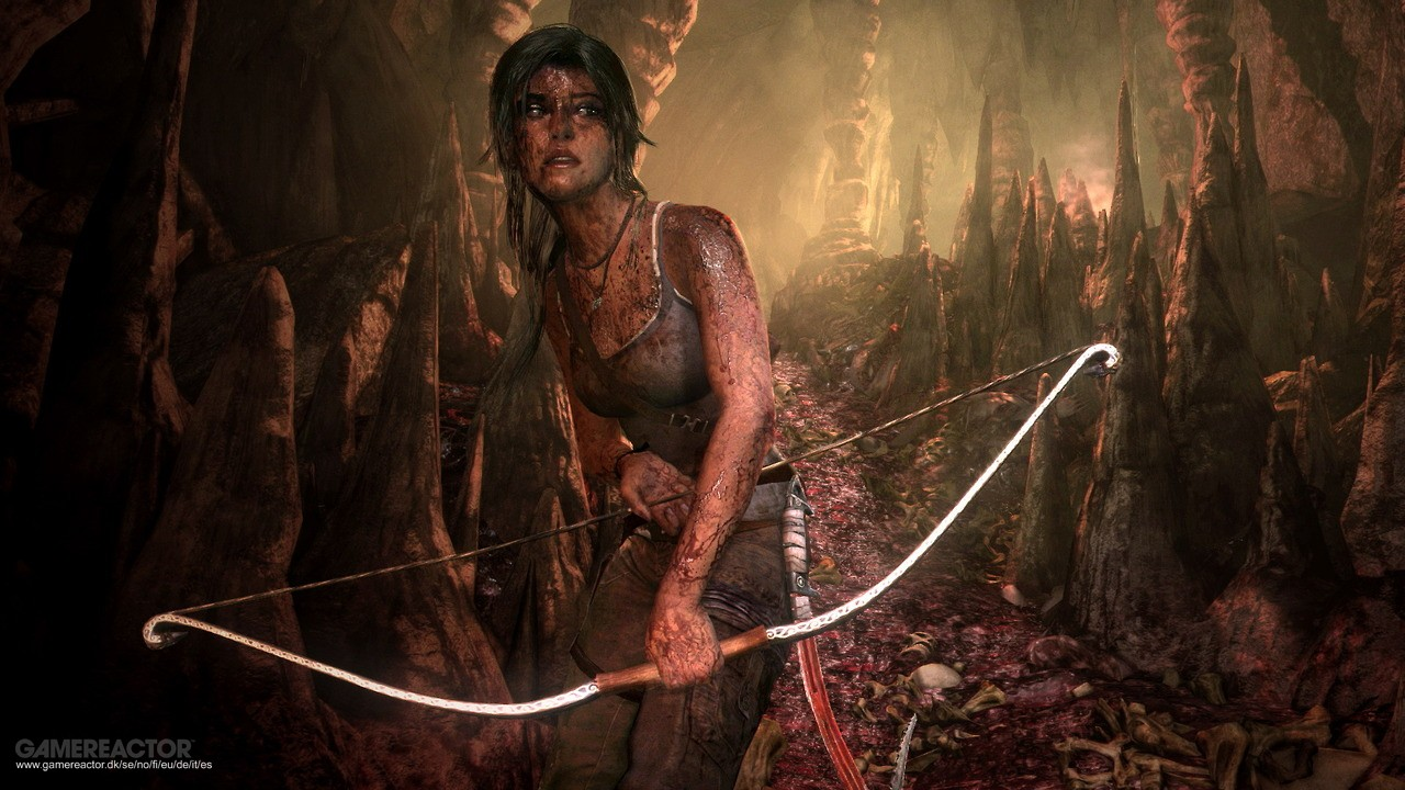 Pictures of A couple of next-gen shots of Tomb Raider 1/2