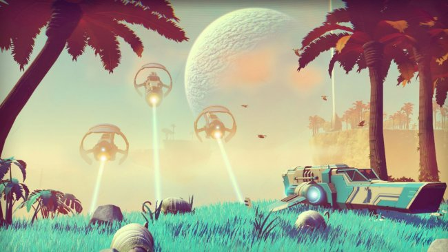 Hello Games working on first content update for No Man's Sky