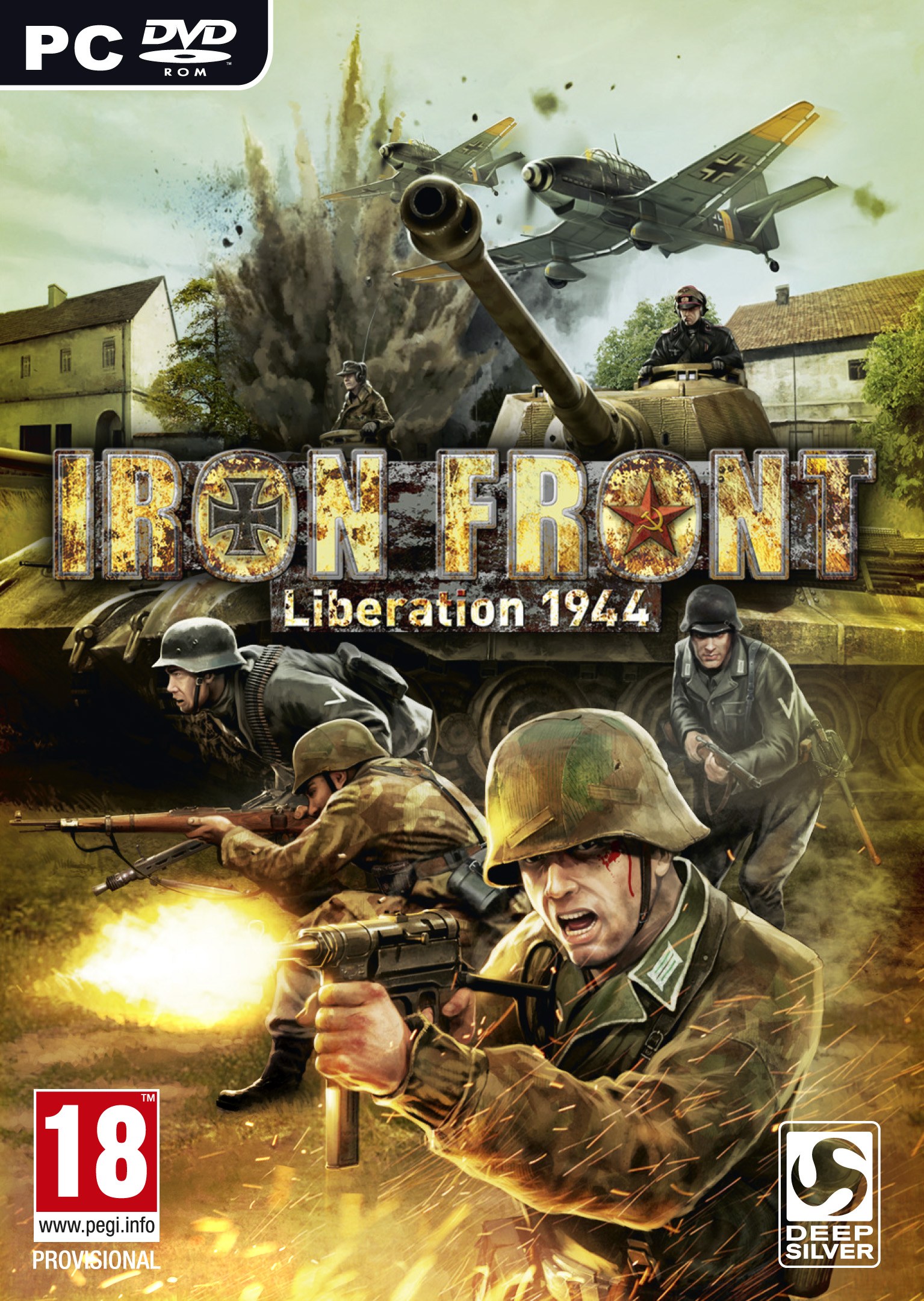 Iron Front Liberation 1944 (PC) 2012