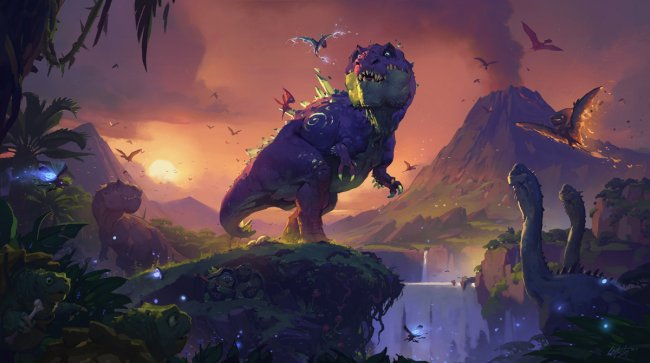 Hearthstone: Journey to Un'Goro exclusive card reveal