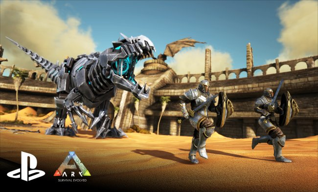ARK: Survival Evolved arrives on PlayStation 4